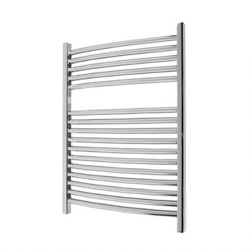 Abacus Elegance Radius Curved Towel Rail - 750mm x 480mm - Chrome